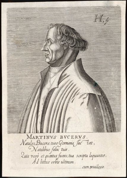 MARTIN BUCER Protestant reformer from Alsace, came to England