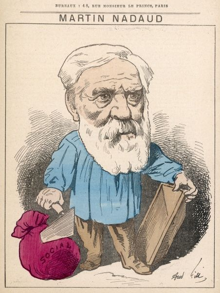 Martin Nadaud (1815-1898) rose from humble beginnings, becoming a revolutionary and Member of Parliament