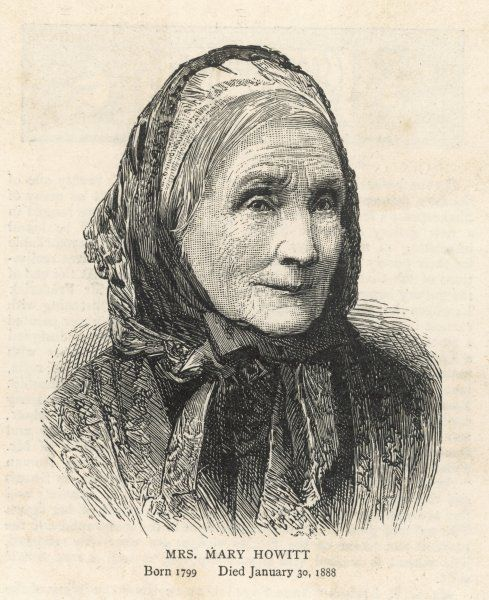 MARY HOWITT Writer, wife of William Howitt in old age