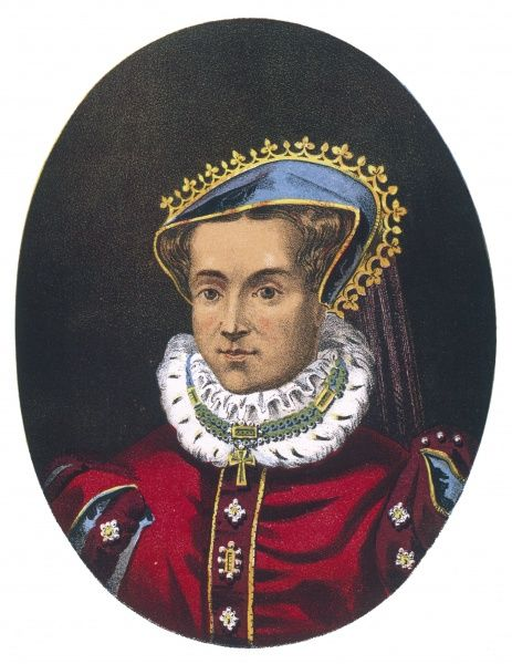 MARY TUDOR Catholic Queen of England, reigned 1553-1558
