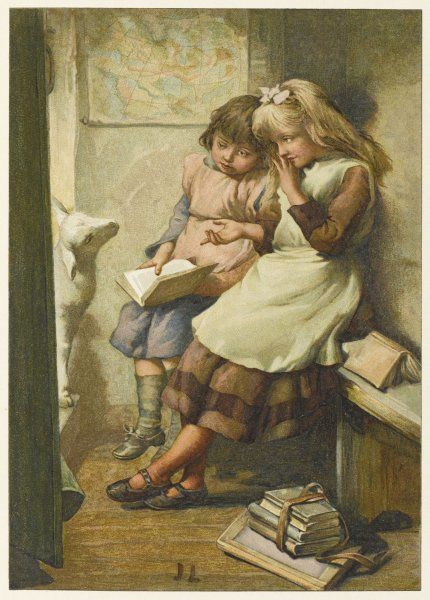 'Mary had a little lamb, its fleece was white as snow, and everywhere that Mary went the lamb was sure to go.&#39