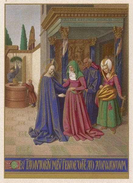 Mary, finding herself pregnant, visits her friends Elizabeth and Zechariah : Elizabeth, too, is unexpectedly pregnant - her son will be John the Baptist