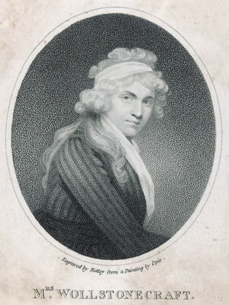 MARY WOLLSTONECRAFT GODWIN writer, wife of William Godwin, mother of Mary Shelley