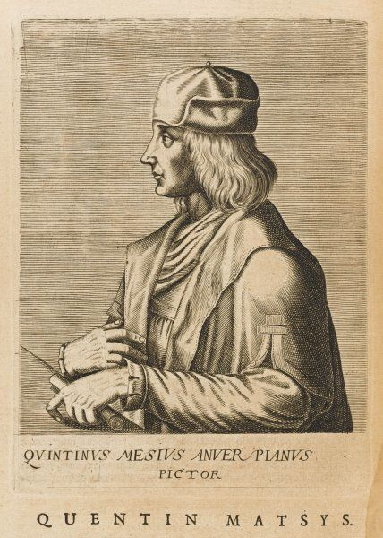 QUENTIN MASSYS or MATSYS, MESSYS or METSYS Flemish painter