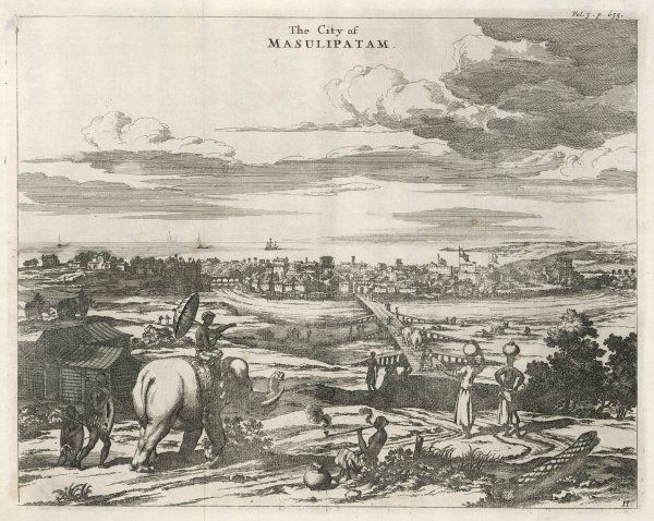 (or Machilipatnam) The first British settlement on the Calabar coast, in 1611 ; later taken by the French but re- taken by the British