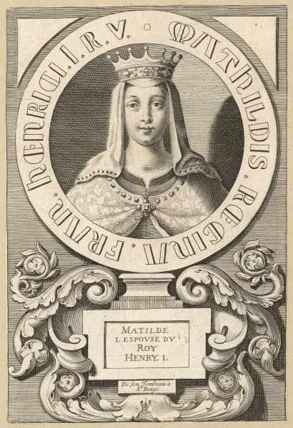 MATHILDE first queen of Henri I, king of France