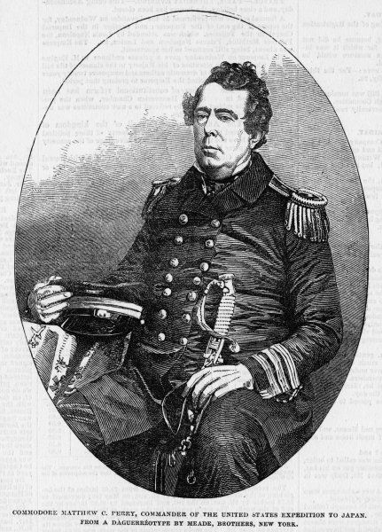 MATTHEW CALBRAITH PERRY U.S. naval commander, negotiator of landmark treaty with Japan, 14 July 1853
