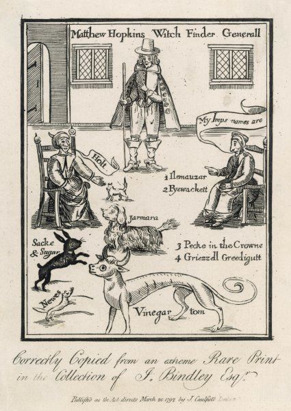 Self-appointed 'Witchfinder- General' in East Anglia, responsible for many false accusations of witchcraft