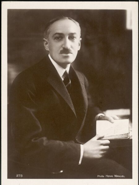 ANDRE MAUROIS alias ESW HERZOG French novelist and biographer