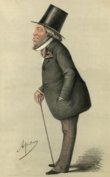 baron MAYER AMSCHEL DE ROTHSCHILD Sportsman and art collector, member of English branch of international banking family