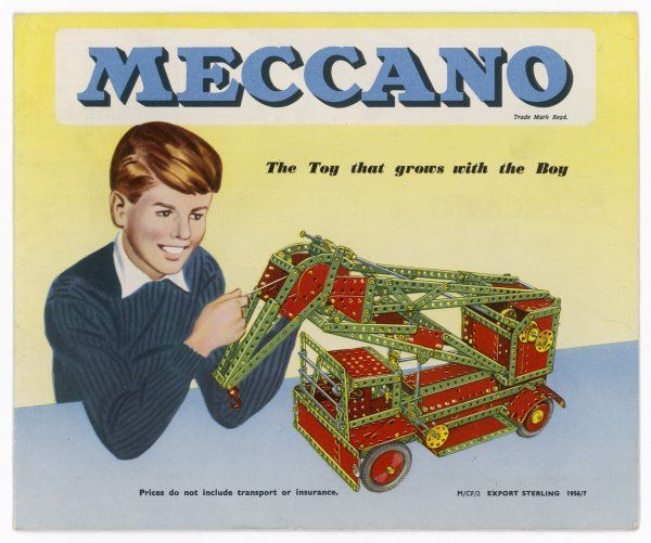Catalogue for 'Meccano', the best of all construction toys