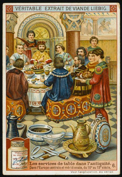 A MEDIEVAL BANQUET IN SOUTHERN EUROPE