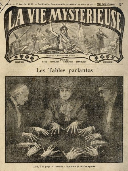 Raphael N'Hutter attends a seance with an unnamed French medium