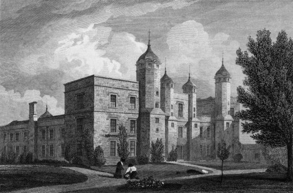 Melford Hall, Suffolk Date: circa 1830