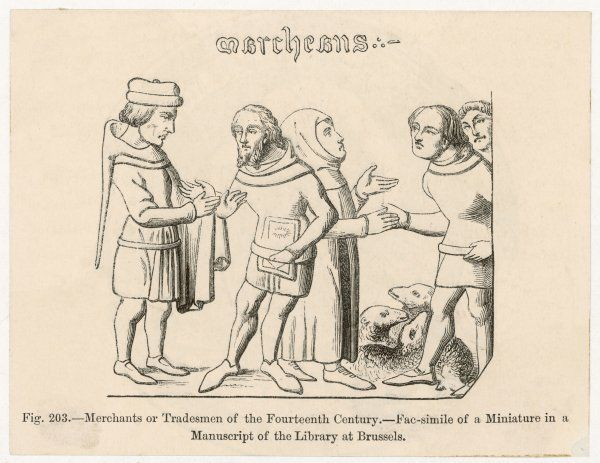 Merchants and tradesmen