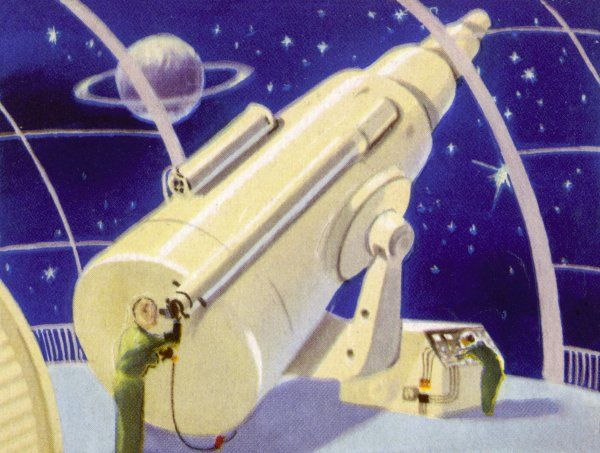 METEOROLOGICAL STATION IN SPACE