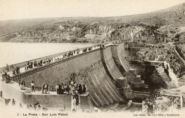 Mexico, The Opening of the Dam at San Luis Potosi Date: circa 1906