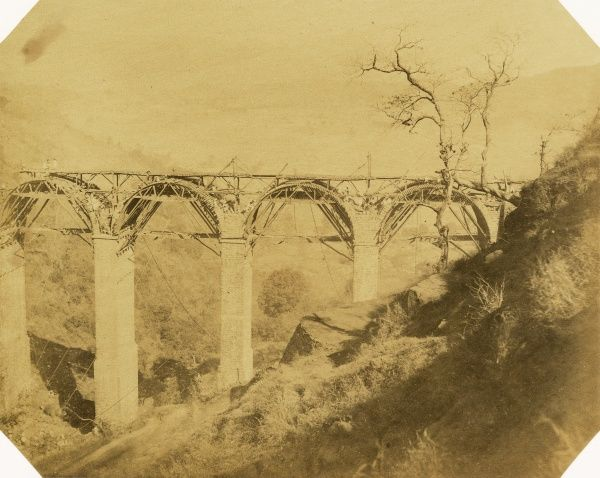 Mhow-ke-Mullee Viaduct, 169 ft high; at 4 3/4 miles Date: 1856