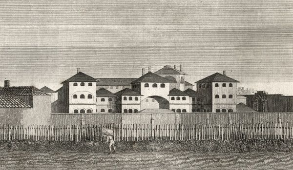 The Middlesex House of Correction, opened in 1794, was later known as Cold Bath Prison, then Clerkenwell Gaol. It became a debtors prison before closing in 1885. The site is now occupied by the Mount Pleasant letter sorting office