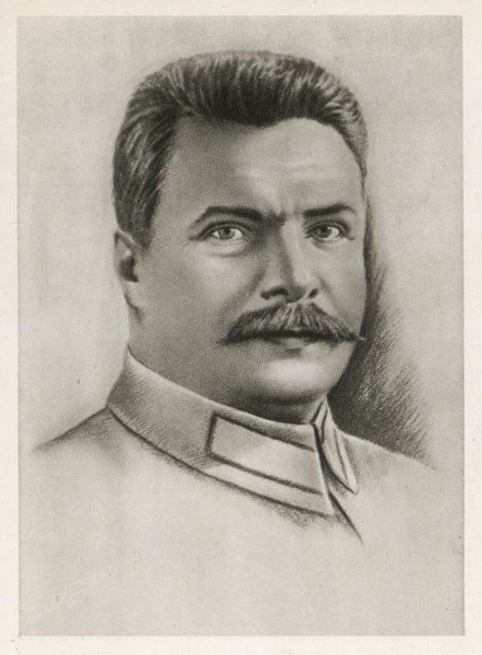 MIKHAIL FRUNZE Russian soldier and revolutionary, took part in 1905 rising and 1917 Revolution, considered one of the founders of the Red Army