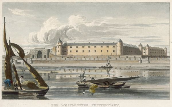 Millbank prison was conceived by Jeremy Bentham whose goal was that prisoners would receive just punishment while developing an appreciation of labour. It was completed in 1821