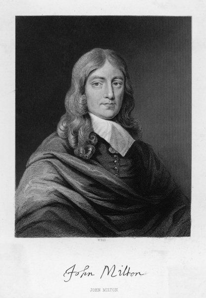 JOHN MILTON English poet