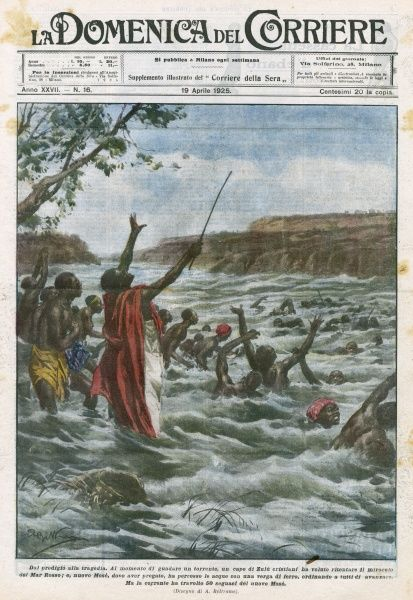 A Zulu chief, converted to Christianity, seeks to emulate Moses by commanding a river to part like the Red Sea - but it doesn't, and he loses 50 of his subjects Date: 1925