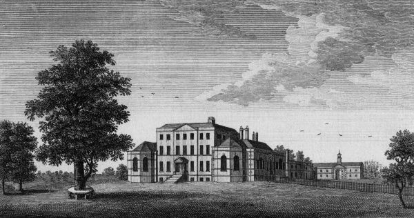Mistley Hall, Essex, the seat of Richard Rigby Esquire Date: circa 1790