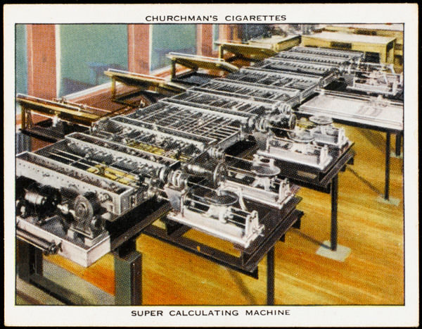 The Differential Analyser calculating machine designed at Massachusetts Institute of Technology
