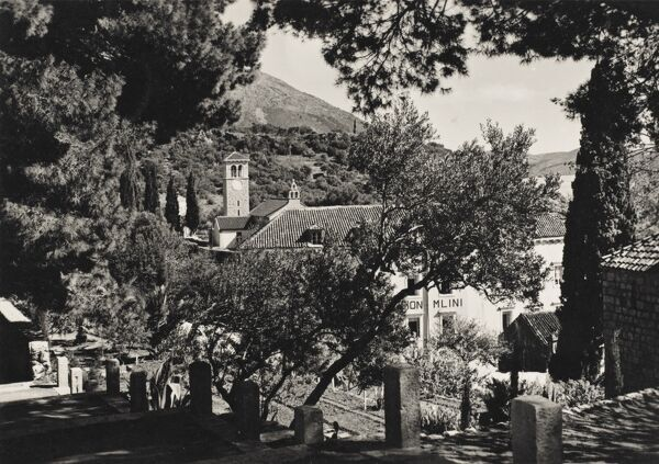 The small picturesque village of Mlini close to Dubrovnik, Croatia