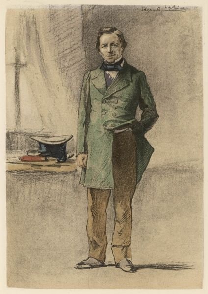 Portrait of Charles Bovary