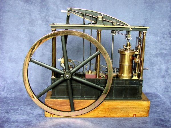 Model beam engine, nineteenth century Date