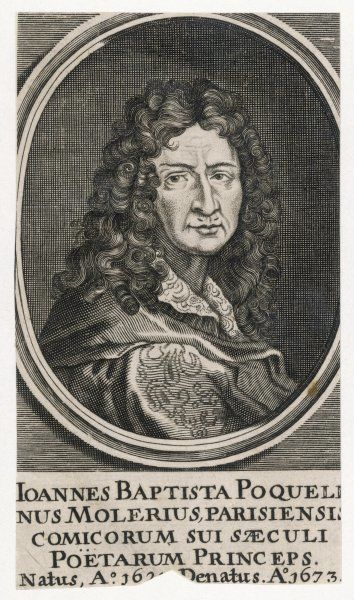 JEAN-BAPTISTE MOLIERE French playwright