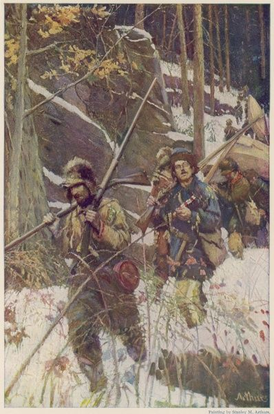 General Morgan's expedition to Quebec