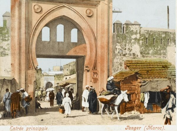 The Main Gate - Tangiers, Morocco