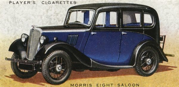 Popular family saloon with a sliding head - i.e. you can open the roof. Date: 1936