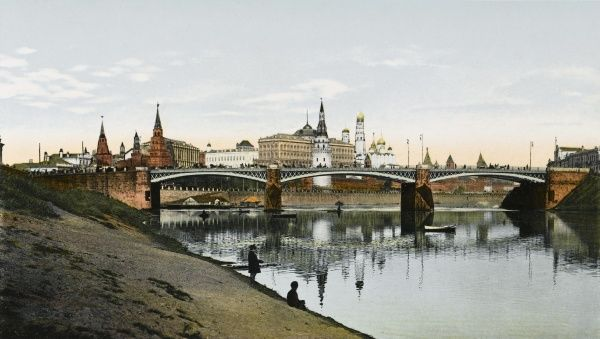 Kremlin: general view from the Moskva River
