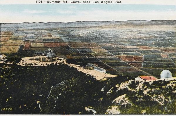 Summit of Mount Lowe, near Los Angeles, California, America