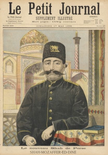 MOZAFFAR OD-DIN SHAH Shah of Iran (1896-1907), an unpopular and incompetent ruler