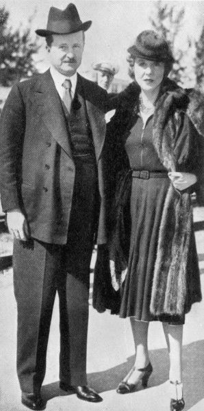 The couple holidaying in Palm Beach, Florida, were the guests of the Countess Haugwitz-Reventlow. Mr Duff had also been touring the USA, giving a series of lectures