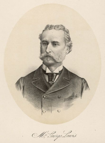 GEORGE HENRY LEWIS Society lawyer. Acted in many sensational Victorian cases and eventually represented the Prince of Wales and other members of society