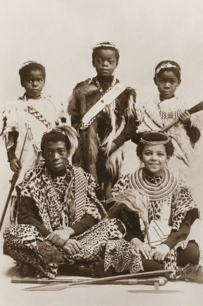 Mr J. H. Balmer's Kaffir Boys. A Boy Choir from South Africa