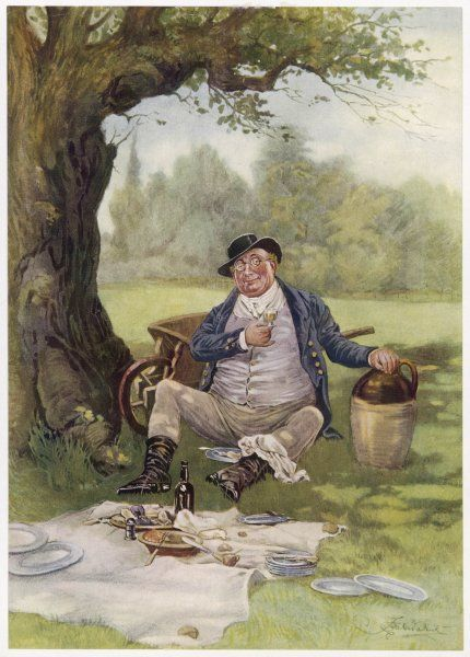 Mr Pickwick picnics