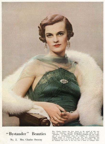 Margaret Whigham (1912-1993), British society figure, debutante of the year in 1930