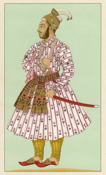 MURAD BAKCHE Brother of the Mughal emperor Auranzeb Alamgir I (late 17th century)