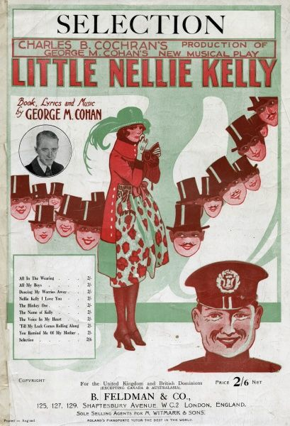 A selection of songs from a Charles B. Cochran musical. Date: 1922