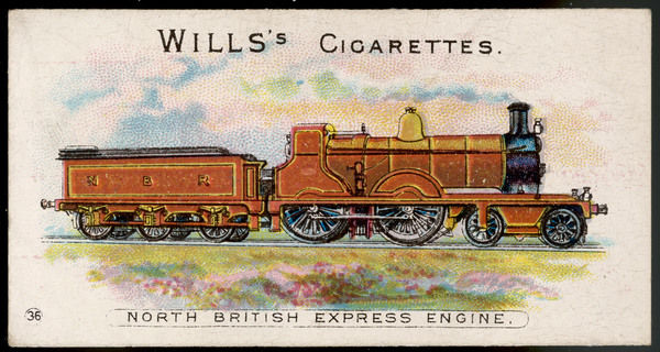 North British Railway express locomotive