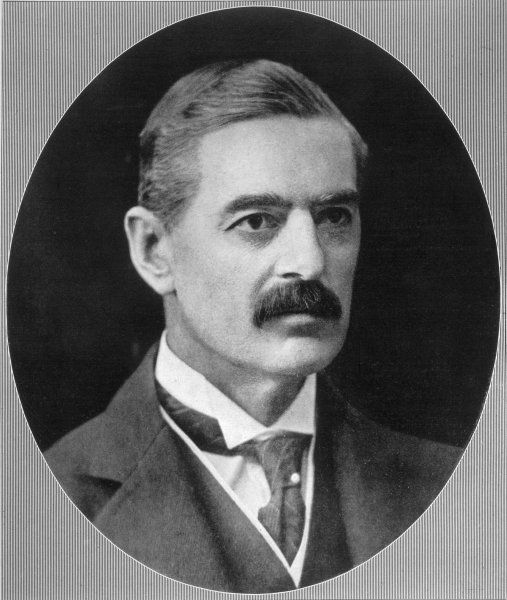 NEVILLE CHAMBERLAIN Chancellor of the Exchequer in 1923