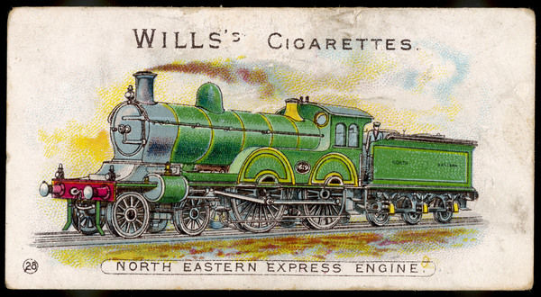 North Eastern Railway express locomotive