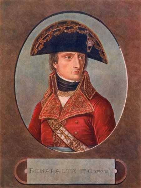 NAPOLEON I as First Consul, 1803